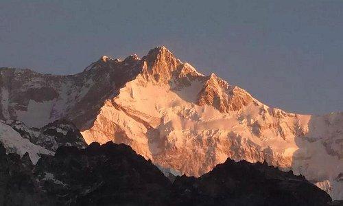 As seen from dzongri