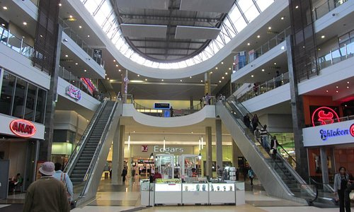 Interior of Maponya Mall