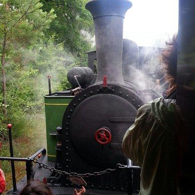Locomotive de face