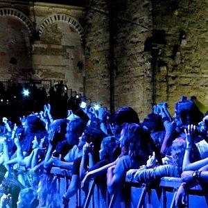 Divertendosi al festival dei blu di Pistoia ed ascoltare Robert Plant.