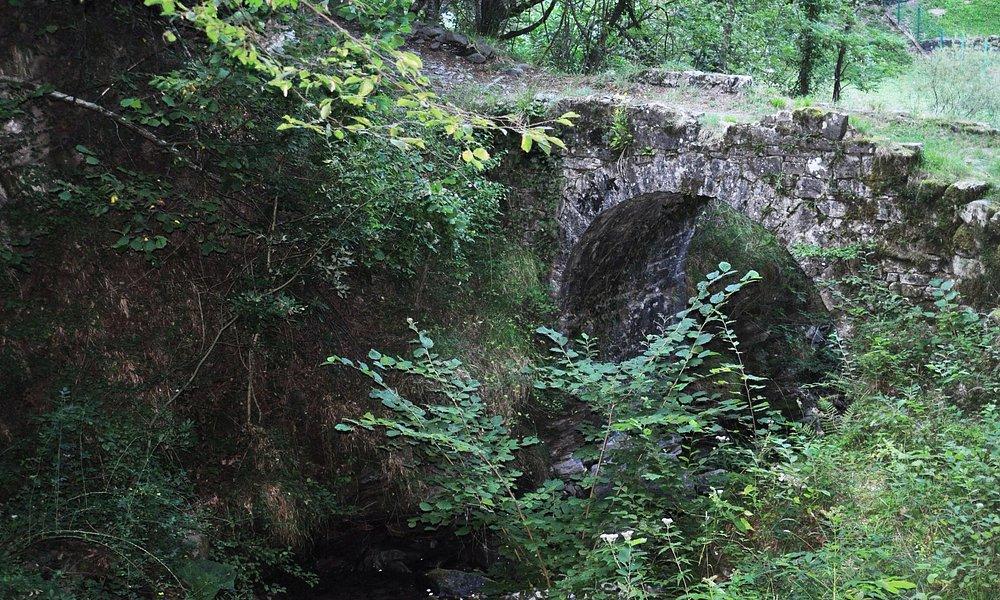 Ponte sul Randaragna-elaborazione pittorica