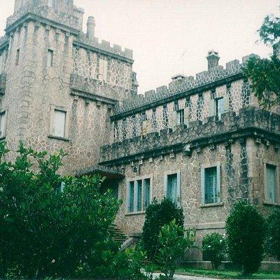 Um vista do castelo