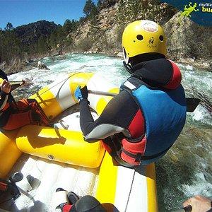 Rafting en Cuenca cerca de Madrid