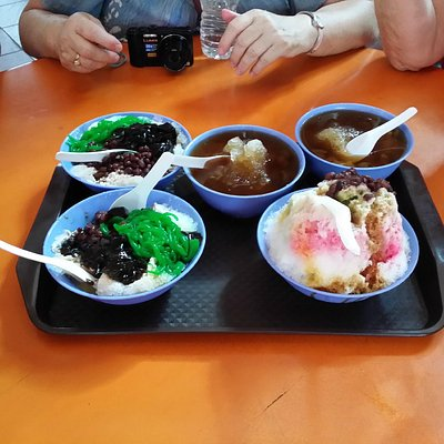 Nice desserts to cool the Singapore heat