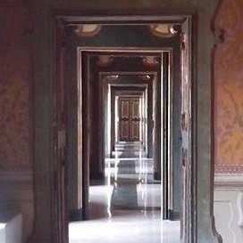 Piano nobile - Veduta di ingresso alle sale