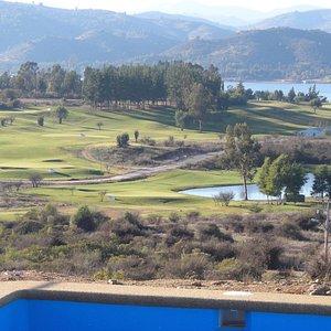 Scenic view of Marina Golf Rapel course