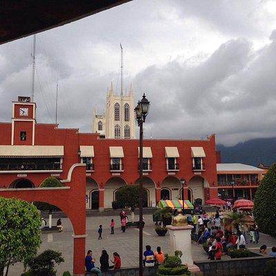 Vista del palacio municipal
