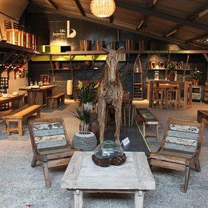 reclaimed furniture showroom Lymington