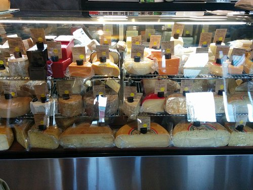 Cheese lover's heaven - what a display !