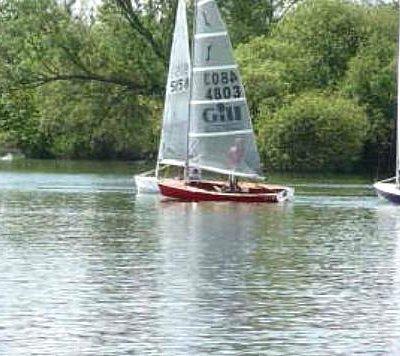Sunday sailing - Solo class racing