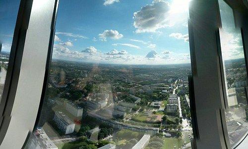 Skytower - taras widokowy.