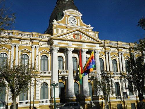 Palácio de Governo na Plaza Murillo