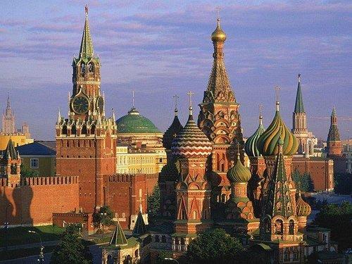 Vista panoramica do Kremlin
