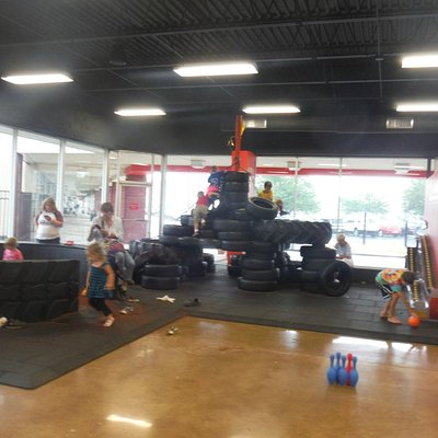 Climbing Tires to Ring the Bell