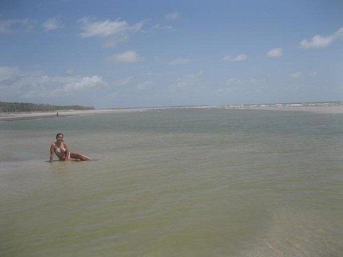 Praia do Crispim - Maré enchendo