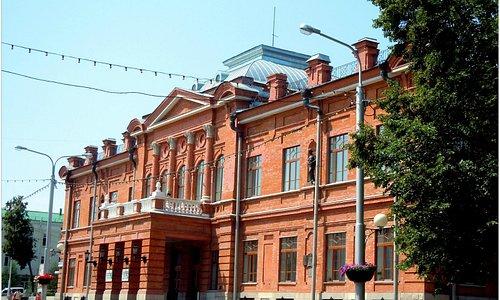 """Здание основывалось и строилось как """"Народный дом Аксакова"""""""