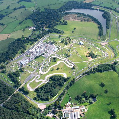 Oulton Park from above