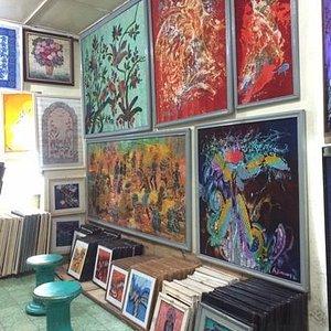 batiks in the batik art group shop