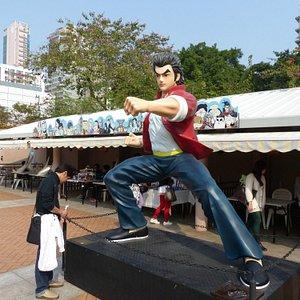 Hong Kong Avenue of Comic Stars - figures