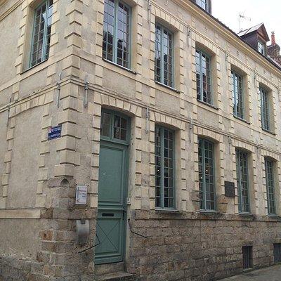 Devanture de la maison de Robespierre