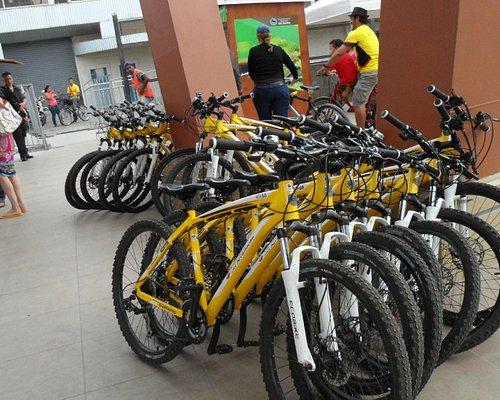 Bicicletas de arriendo para ir a  la Isla Santay