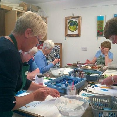 Do something different....a glass workshop.