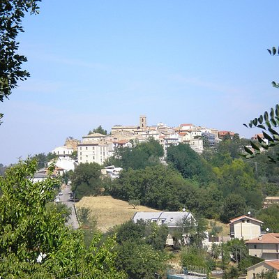 Il centro storico di San Martino sulla Marrucina