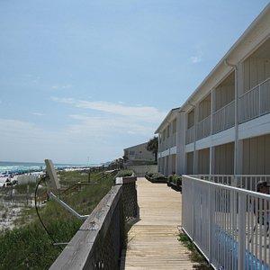 First Floor Boardwalk
