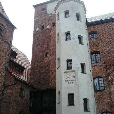 Castle main tower