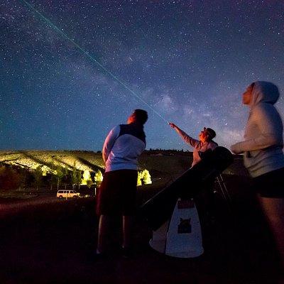 Stargazing in Jackson Hole