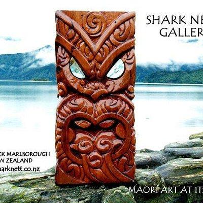 "Maori Carving - Four Faces ""Wheke Wha"""