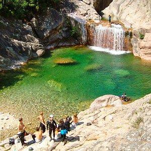 canyon bavella