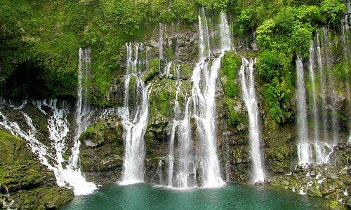 "Der Wasserfall ""Cascade Langevin"""