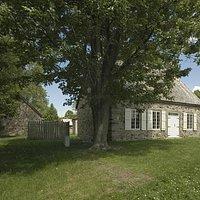 Vue de la Maison LeBer-LeMoyne et la Dépendance. Crédit photo Richard-Max Tremblay.