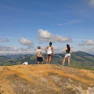 Vista do pico do lobo Guará