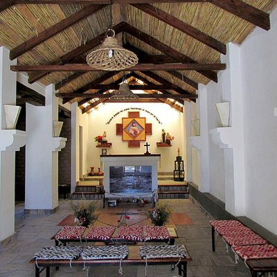 Interior Iglesia de Alfarcito