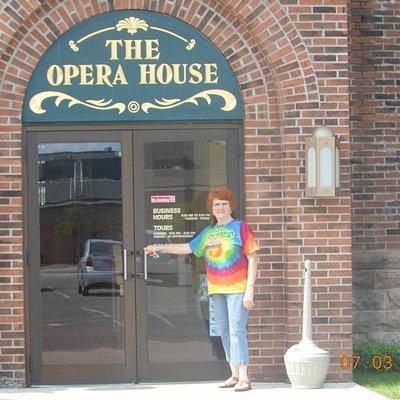 Cheboygan Opera House entrance