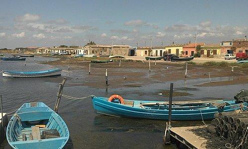 Barche nel porticciolo dei pescatori