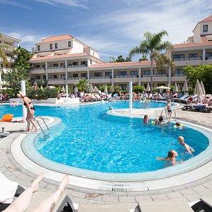 The Pool at the Aparthotel Parque de la Paz