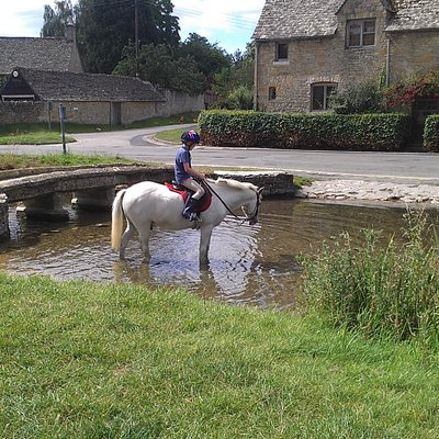 In the river at Lower Slaughter