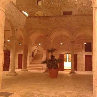 Ingresso della Galleria Nazionale della Puglia Girolamo e Rosaria De Vanna