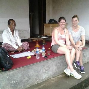 visit to a Balinese compound