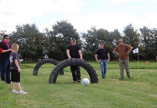 Fun at Hejnsvig footballgolf