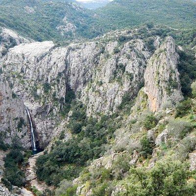 Cascate Piscina Irgas panorama