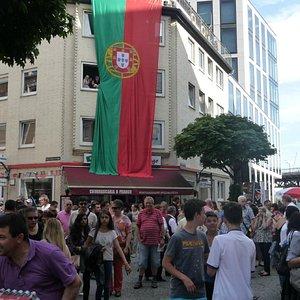 Portugal in Hamburg