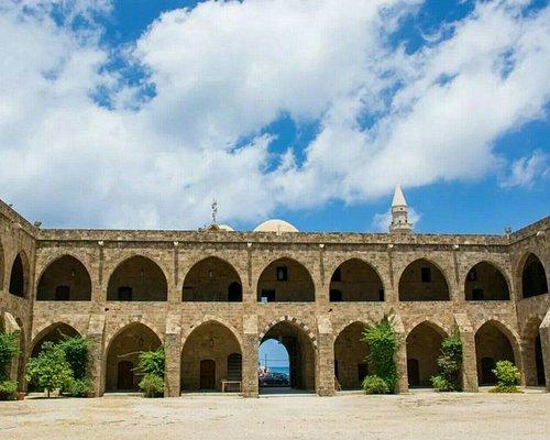 Khan Al-Franj Fort, Sidon, Lebanon