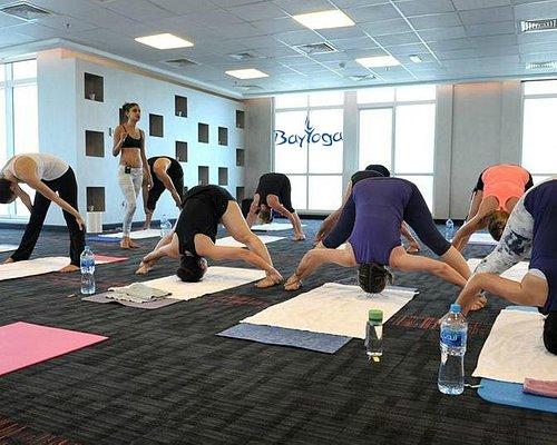 Bikram Yoga in Action - Bay Yoga Center