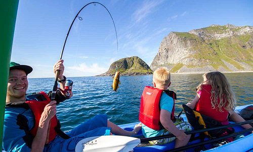 Rent a kayak and go fishing