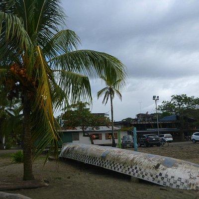 Pueblo desde la playa
