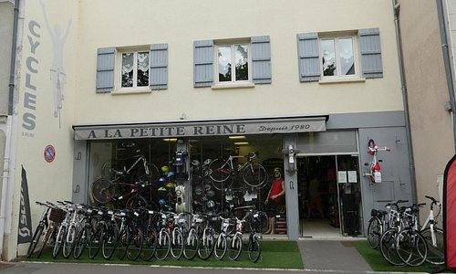A La Petite Reine bike shop